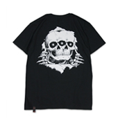 Terrible Whore 【BONE REAPER TEE】 BLACK
