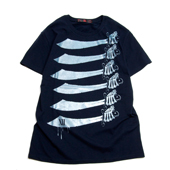 SALE!! Terrible Whore 【NAPOLEON SWORD T-shirt】 NAVY