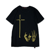 Terrible Whore 【ICONOCRASS TEE】 BLACK